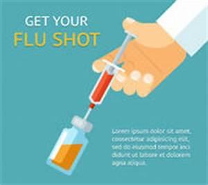 Flu Shot Poster Stock Illustration - Image: 53339510