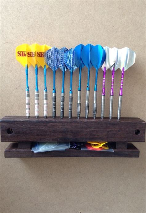 darts display holder  storage wood turning projects