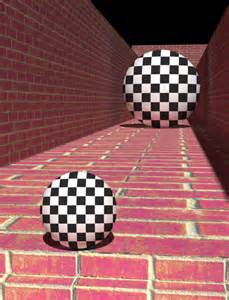 Relative Size Optical Illusion