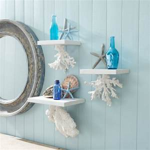 Coral hanging shelves these would be perfect for my