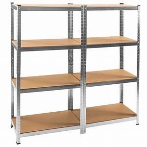 Etagere En Fer Pour Garage : tag re 640kg charge lourde metallique de rangement objets ~ Edinachiropracticcenter.com Idées de Décoration