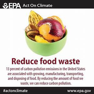 Earth Month TipReduce food waste The EPA Blog