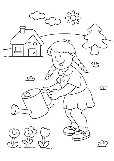 Image vectorielle de stock de best friend forever postcard ink. Coloriage Fille dans la Compagne dessin gratuit à imprimer