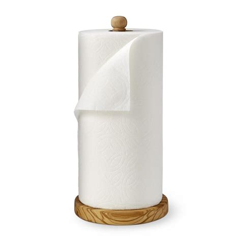 olivewood paper towel holder williams sonoma au