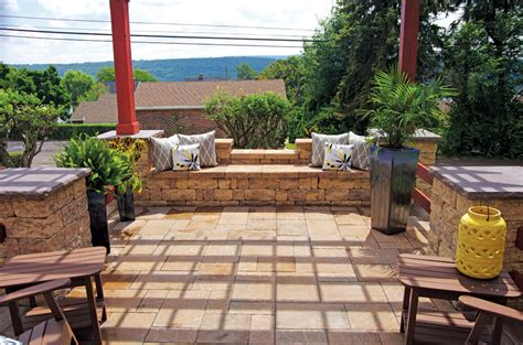Backyard Patios by Backyard Patios Libertystone Hardscaping Systems