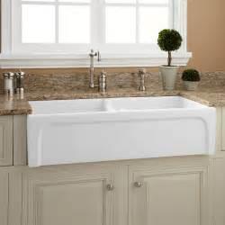 acrylic kitchen sinks ecoration kitchen unique white double farmhouse sink on brown granite