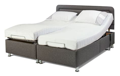 size bed with mattress included sherborne hton king size 6 adjustable bed vat