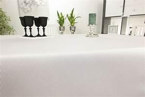 Damast Tischdecke Weiß : damast tischdecke wei gestreift scida breite 160 cm ~ Watch28wear.com Haus und Dekorationen