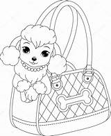 Poodle Template Coloring Templates sketch template