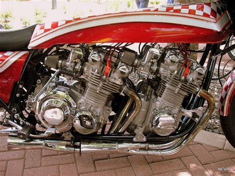 Radical…twin Engine Kawasaki Kz1000.