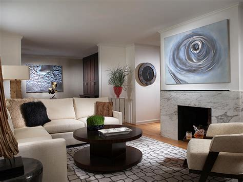 Modern Art For Living Room : Living Room Design Tips From Candice Olson