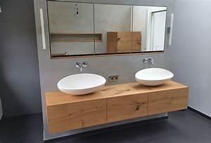 Waschbeckenunterschrank Hängend Aufsatzwaschbecken : die besten 17 ideen zu eiche bad auf pinterest badezimmerideen und badezimmer ~ Markanthonyermac.com Haus und Dekorationen