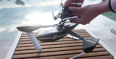 Hydrofoil Boat Works by Parrot Unveils 13 New Minidrones To Tackle Air Sea And Land