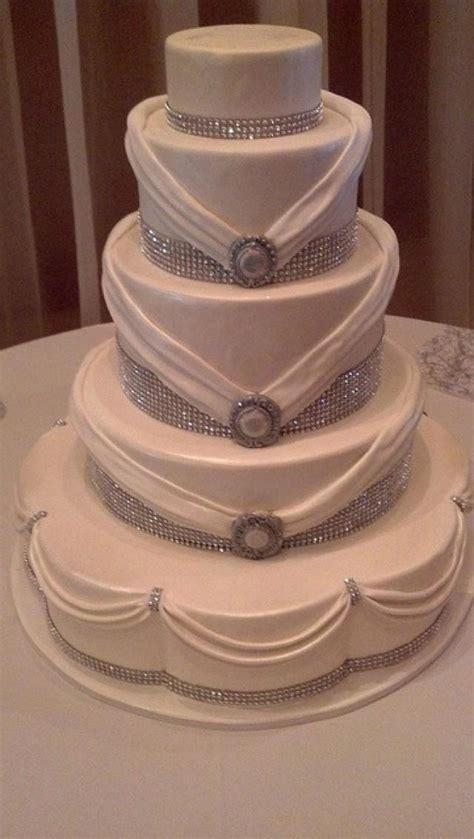 bling wedding cakes cake rhinestones 2040551 weddbook