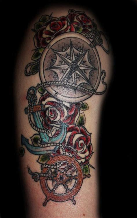 anker kompass tattoos zum stichwort kompass bewertung de lass