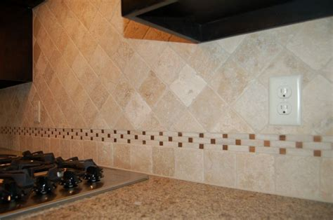 tumbled marble kitchen backsplash this backsplash lt ivory tumbled marble mcbee