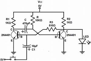 how to build a monostable multivibrator circuit with With monostable circuit