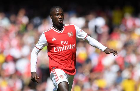 liverpool  arsenal predicted  ups nicolas pepe