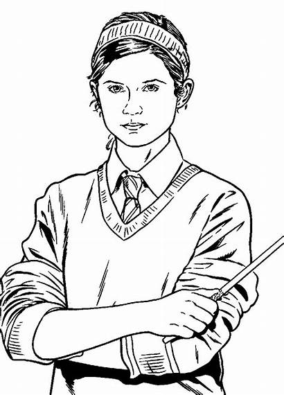 Harry Potter Phoenix Order Coloring Pages Fun