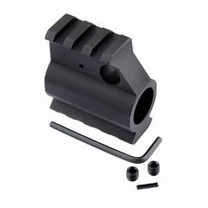 Ar15 M16 M4 Picatinny Dual 2 Rail Gas Block  750