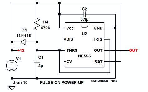 Problem Creating One Shot Impulse Circuit