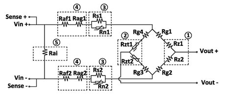 Load Cell Wiring Diagram by Load Cell Electrical Circuit Utilcell