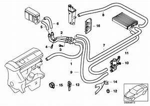 Original Parts For E46 320d M47 Touring    Heater And Air Conditioning   Water Hoses Water Valve 2