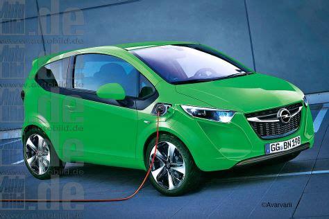 opel city  elektroauto auf karl basis autobildde