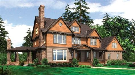 Elegant Shingle Style Home Plan Plan 2386 The Vicksburg