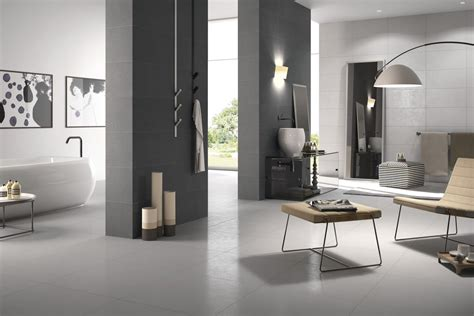 porcelaingres  grey unglazed porcelain tile wall