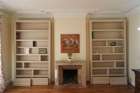 biblioth鑷ue chambre bibliotheque sur mesure photos de conception de maison elrup com