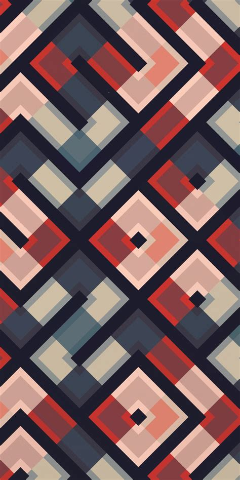 Support us by sharing the content, upvoting wallpapers on the page or sending your own background. 1080x2160 Pattern, lines, squares, colorful, abstraction wallpaper | Cute patterns wallpaper ...