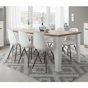 Chaise Table A Manger : table et chaise de salle a manger pas cher ~ Teatrodelosmanantiales.com Idées de Décoration