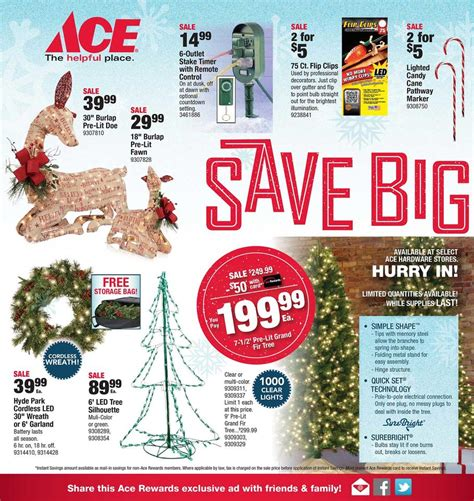 black friday  ace hardware ad scan buyvia