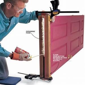 Hollow Door Fix  New Bottom For Hollow Core Doors