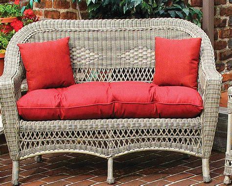loveseat cushions indoor sunbrella indoor outdoor belair loveseat replacement cushion