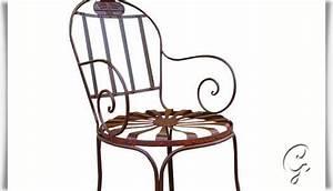 Gartenstuhl Metall Antik : garten stuhl aus schmiedeeisen ~ Buech-reservation.com Haus und Dekorationen