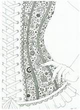 Coloring Corset Lace Deviantart Adult Wish Corsets Drawing Adults Bezoeken Colorear Printable Colorir Outline Desenhos Visitar Kunst Decoupage Kleuren Salvo sketch template