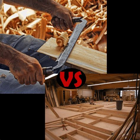 difference  woodworking  carpentry