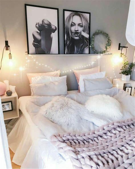 chambre cozy idees rose gris en  deco chambre