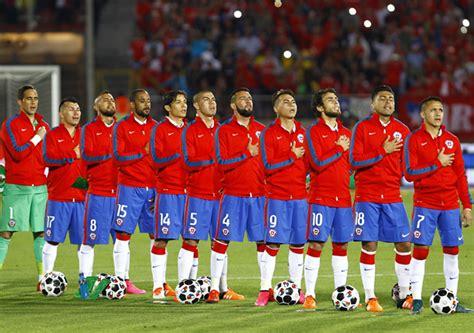 Últimas noticias sobre selección chilena. » La 'Roja' se mantiene como la quinta mejor selección del ...