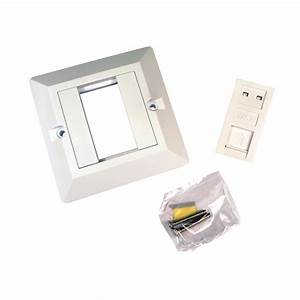1 Port Rj45 Face Plate Wall Socket Loaded Faceplate