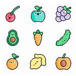 Vegetables Icons Fruits Vegetable Diet Produce Icon