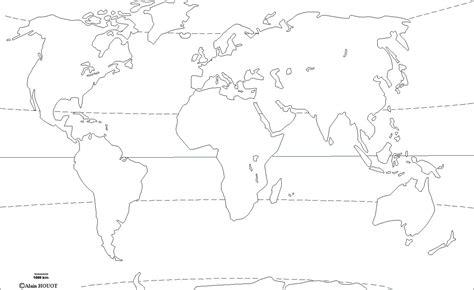 Carte Du Monde Vierge à Remplir Cm2 by Carte Continents Et Oc 233 Ans Vierge A Imprimer My