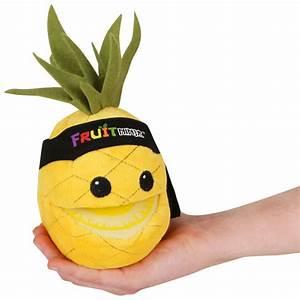 Fruit Ninja 5 Inch Plush With Sound Pineapple Toys Zavvi