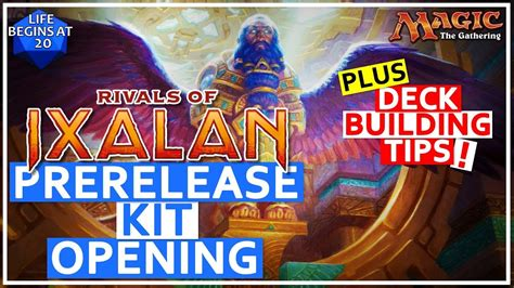 rivals  ixalan prerelease kit opening guide deck