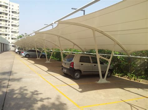 Car Shelter by Shelters Car Shelters 171 Saflow Products Pvt Ltd