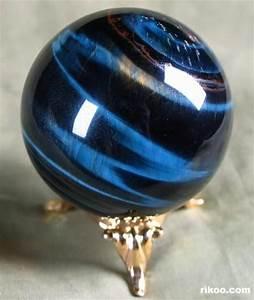 Blue Tiger Eye Crystal Ball | Crystal Energy | Pinterest