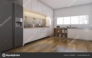 Cuisine Avec Parquet : photos de cuisines avec parquet 3d rendu belle cuisine et salle manger avec parquet ~ Melissatoandfro.com Idées de Décoration