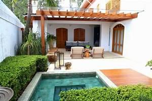 amenagement petit jardin 99 idees comment optimiser l With petite piscine pour terrasse